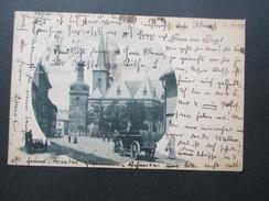 AK Österreich 1900 Gruss Aus Prag! Pferdekarren. - Gruss Aus.../ Grüsse Aus...