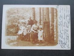 AK Österreich Wien 1902 Familienportrait. Wien Strichstempel - 1850-1918 Imperium