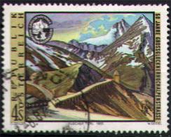 AUSTRIA - 1985 - CINQUANTENARIO DELLA STRADA ALPINA SUL PASSO DEL GROSSGLOCKNER - USATO - 1981-90 Usados