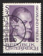 AUSTRIA - 1981 - SIGMUND FREUD - USATO - 1945-.... 2nd Republic