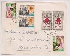 BRIEF LETTRE KNOKKE 1966 COB 1360/62 RERUM NOVARUM 2 Series - België