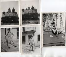 PHOTO 395 - MILITARIA - Série De 11 Photos Originales - Tankiste & Char - Tank - RCC - Guerra, Militares