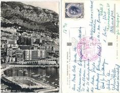 Monaco - Monte Carlo  -  Hafen  Gelaufen 1962 - Hafen