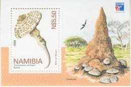 Namibia 1999 Mushrooms/Philexfrance M/s ** Mnh (33709) - Namibië (1990- ...)