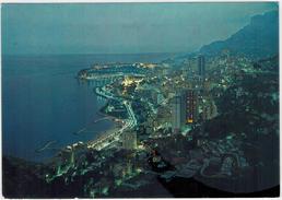 Monaco - Monte Carlo  - Bei Nacht  Gelaufen 1972 - Monte-Carlo