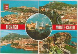Monaco - Monte Carlo  - 5 Ansichten  Gelaufen 1983 - Monte-Carlo