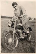 PHOTO 396 - Photo Originale 7 X 10 - Motocylette - Moto - Photos