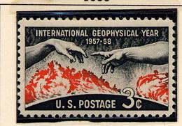 USA -  INTERNATIONAL GEOPHYSICAL YEAR - Neufs