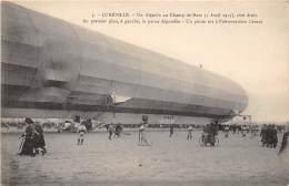 54 - MEURTHE ET MOSELLE / Lunéville - Un Zéppelin Au Champ De Mars - Luneville