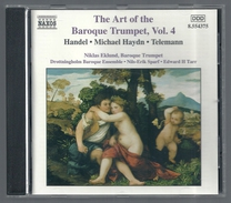 CD CLASSIQUE - HANDEL / HAYDN / TELEMANN - NIKLAS EKLUND, Trompette Baroque - Klassik