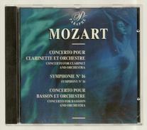 CD CLASSIQUE - MOZART : CONCERTO POUR CLARINETTE ET ORCHESTRE... - Direction : ALBERTO LIZZIO - Klassik