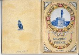 RICORDO DI FIRENZE → 32 Vedute Anno 1933 - Tourisme, Voyages