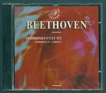 CD CLASSIQUE - BEETHOVEN : SYMPHONIES N° 1 & 2 - Direction : ALFRED SCHOLZ - Klassik