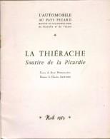 La Thiérache Sourire De La Picardie Par René Normand, 18 Dessins De C;Samson Bulletin De L'Automobile-club Noêl 1957 - Picardie - Nord-Pas-de-Calais
