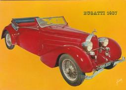 -  VOITURES ANCIENNES - BUGATTI 1937 - Turismo