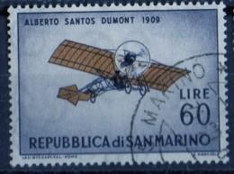 PIA - S.MARINO - 1962 :  Pionieri Dell´ Aviazione : Santos Dumont 1909  -   (UN 594) - Aerei
