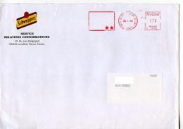 Boisson Schweppes,lettre Publicitaire,carte Voeux Indian Tonic,Canada Dry,Gini,Oasis Thé