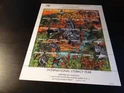 Angola 1990- Année Internationale De L'alphabétisation.Yvert N° 781 à 810 - Angola