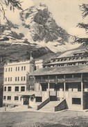 5534.   Cervinia Breuil - La Gran Baita E Stazione Funivia - Valle D' Aosta - 1949 - Busto Arsizio - Altre Città