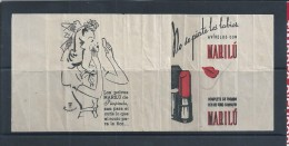 Marilú Lipstick. Advertising Lipstick Marilú. Batom Marilú. Publicidade. - Perfumes & Belleza