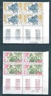 Monaco Timbres De 1986  N°1545/46  Neufs ** En Coin Daté - Neufs