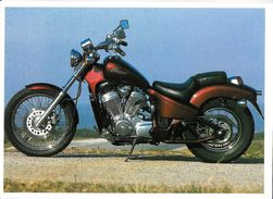 TRANSPORT MOTO MOTOCYCLETTE HONDA VT 600 CHOPPER EDIT. LES MOTOS BOOKKING - Motos