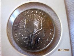 Djibouti 5 Francs Djibouti 1989 - Djibouti