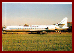 Thème Avions * Scan Recto Et Verso *tirage 600 Ex * Euréka Aviation Caravelle 11 R - Flugzeuge