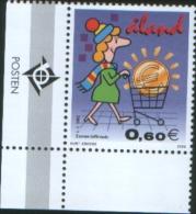Aland 2002 Euro Introduction - Entrata In Vigore Dell´Euro 1v Complete Set ** MNH - Aland