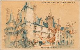 PUBLICITE - CHATEAUX DE LA LOIRE - Château De USSÉ - Pub Pour Entremet CREME EXPRESS JUX - Publicité