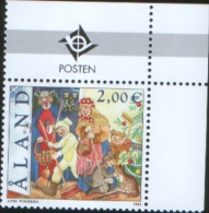 Aland 2002 Saint Canute - La Giornata Di San Canuto  1v Complete Set ** MNH - Aland