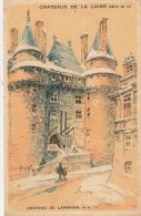 PUBLICITE - CHATEAUX DE LA LOIRE - Château De LANGEAIS - Pub Pour Entremet CREME EXPRESS JUX - Publicité