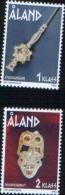 Aland 2002 Iron Age Objects - Oggetti Dell´età Del Ferro 2v Complete Set ** MNH - Aland