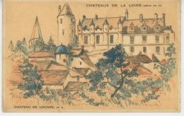PUBLICITE - CHATEAUX DE LA LOIRE - Château De LOCHES - Pub Pour Entremet CREME EXPRESS JUX - Publicité