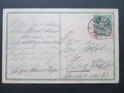 AK Österreich 1915 Ganzsache / Feldpostkarte Roter Stempel: Überprüft Wien I - 1850-1918 Imperium