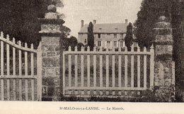 CPA SAINT MALO DE LA LANDE - LE MANOIR - France