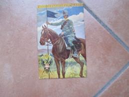 LANCIERI VITTORIO EMANUELE Fidus Et Vigil PRO PATRIA  Viaggiata Da Vicenza Per Sedegliano Prov.UDINE 1916 - Régiments