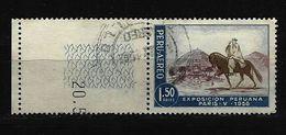 "PERU Mi-Nr. 570 Pariser Ausstellung ""Schätze Perus"" Gestempelt - Peru"