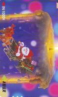 Carte Prépayée Japon * NOËL (2020) MERRY CHRISTMAS  Prepaid Card Japan Karte WEIHNACHTEN JAPAN * KERST NAVIDAD - Kerstmis