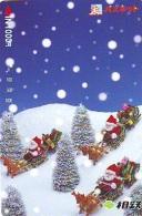 Carte Prépayée Japon * NOËL (2021) MERRY CHRISTMAS  Prepaid Card Japan Karte WEIHNACHTEN JAPAN * KERST NAVIDAD - Kerstmis