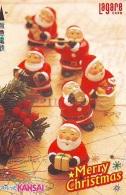 Carte Prépayée Japon * NOËL (2022) MERRY CHRISTMAS  Prepaid Card Japan Karte WEIHNACHTEN JAPAN * KERST NAVIDAD - Kerstmis