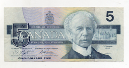 Canada - 1986 - Banconota Da 5 Dollari - Usata -  (FDC1706) - Canada