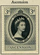 1953 - ASCENSION - Catg.. Mi. 61 - LH - (SAR3010.5) - Ascensione