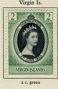 1953 - BRITISH VIRGIN ISLAND - Catg.. Mi. 110 - LH - (SAR3010.5) - British Virgin Islands