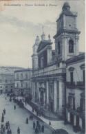 "Card Cartolina Caltanissetta""Piazza Garibaldi E Duomo""-Viaggiata -Sicily Taly Italia - Caltanissetta"