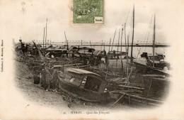 TONKIN - Hanoï - Quai Des Jonques - Viêt-Nam