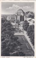 Feldpost WW2:  Postcard Halle (Saale) Stadttheater From 7. Horch Lehr Kompanie P/m Halle (Saale) 17.4.1941 (G64-102) - Militaria