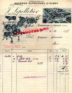 14 - CARENTAN PRES ISIGNY - BELLE FACTURE BEURRES - BEURRE -LAITERIE- J. LEPELLETIER- E. LECUYER- VACHE- 1917 - France