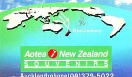 Télécarte JAPON * NOUVELLE ZÉLANDE  RELIEE (106) Telefonkarte * Phonecard Japan * NEW ZEALAND COUNTRY RELATED - Paisajes