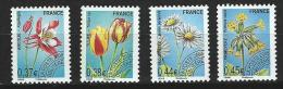 "Préo YT 253 à 256 "" Fleurs "" 2008 Neuf **"